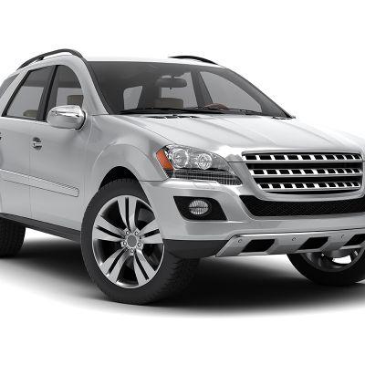 Generic silver SUV